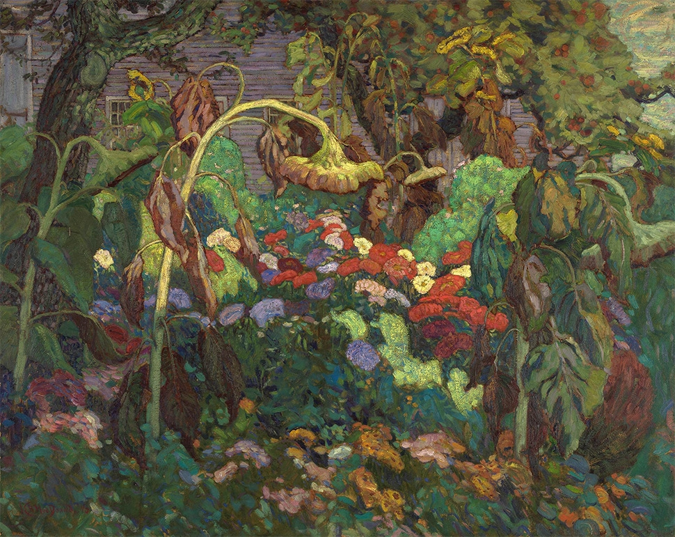 J.E.H. MacDonald, The Tangled Garden